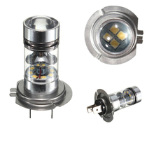 H7 high temperature Car part H1 Car Accessories Universal 12V 100W 1000LM H1 H3 H4 100W 24V LED Fog Light Auto Accessory