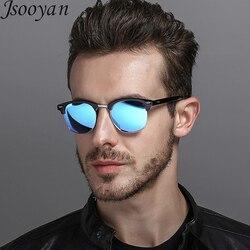 Jsooyan Mode Polarisierte Sonnenbrille Frauen Männer Unisex Fahren Sonnenbrille Klassische Retro Runde Shades Sonnenbrille Männlich Brillen