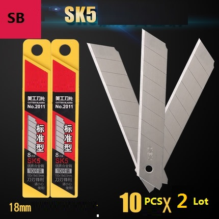 2 Lots Material Escolar  Stationery  Cutter Craft Supplies Small Cutting Supplies Utility Knife Worker And Carpenter Accessor