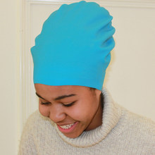 Boné de natação extra grande, tampa de silicone para cabelo longo à prova d'água para mulheres e homens, chapéu de mergulho africano africano