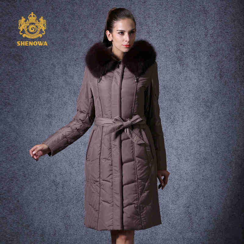 FEADAY Store 2015 New Hot Thicken Warm Woman Down jacket Coat Parkas Outerwear Hooded Fox Fur collar Long Plus Size 5XXXXXL Luxury Brand Cold