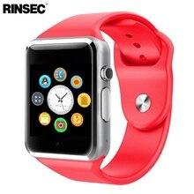 2016 Новое Прибытие Smart Watch A1 Clock Sync Notifier Поддержка SIM TF Карта Подключения Apple iphone Android Телефон Smartwatch