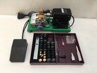 Мини Бусы из жемчуга Сверлильные станки, янтарный Holing машина, ювелирные изделия бурового инструмента и комплект оборудования