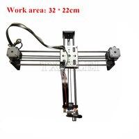 DIY Smart Writing Drawing Robot Mini XY 2 Axis CNC Pen Plotter Machine Advanced Toy Stepper Motor Drive Inkscape 32x22cm