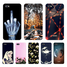 Various Patterned Case For Xiaomi Redmi 6A Soft TPU 6 A 5.45 Phone Back Cover