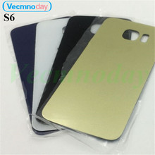 Vecmnoday For Samsung S6 Replacement Housing Door Battery Back Cover For Samsung Galaxy S6 G920 Back Protect Case Part