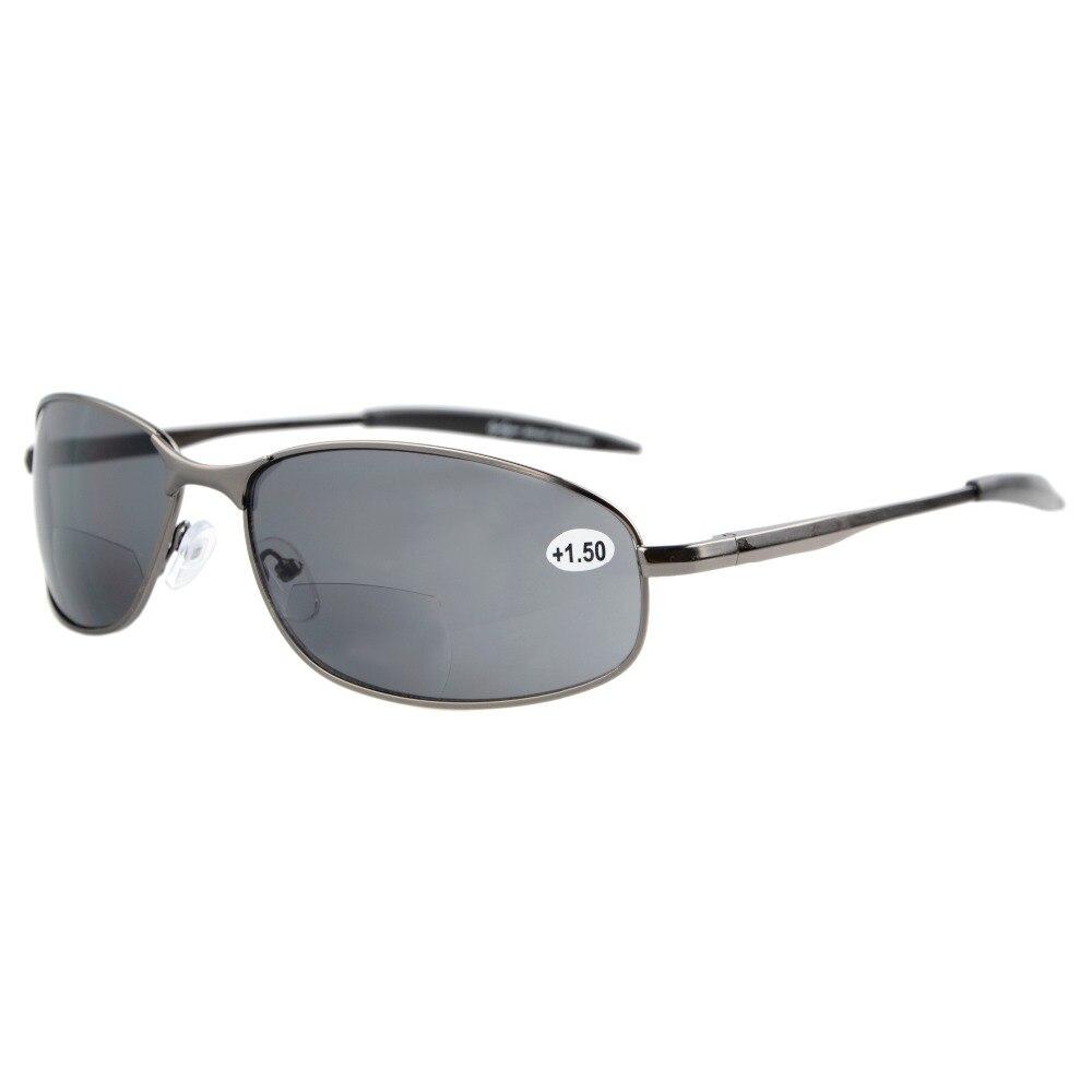 S15003 Bifokale Eyekepper-Sonnenbrille mit Metallrahmen für den - Bekleidungszubehör - Foto 1