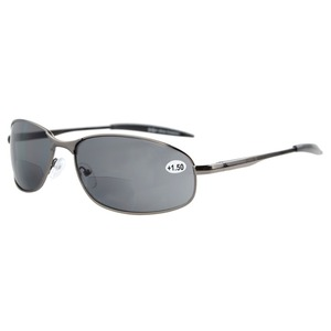 Image 1 - S15003 Bifokale Eyekepper Metallrahmen Outdoor Bifokale Sonnenbrille + 1,0/+ 1,5/+ 2,0/+ 2,5/+ 3,0