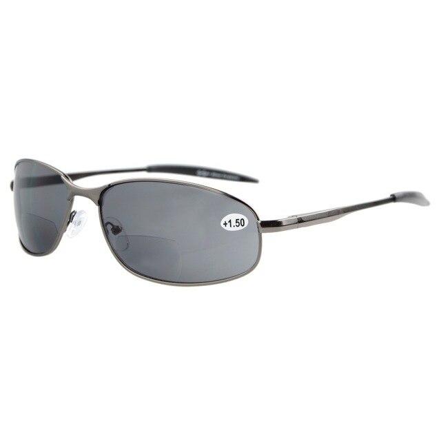 S15003 Bifokale Eyekepper Metallrahmen Outdoor Bifokale Sonnenbrille + 1,0/+ 1,5/+ 2,0/+ 2,5/+ 3,0