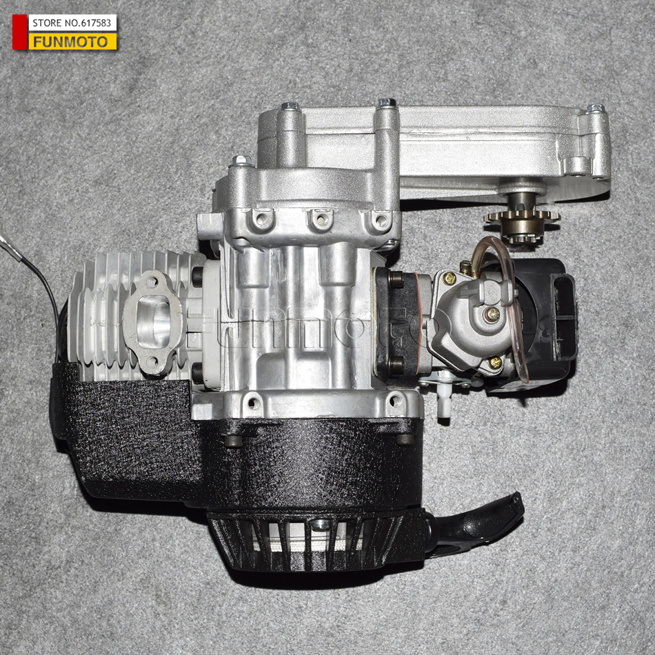 49cc engine with transmission box /air clearner and