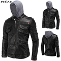 Leather fashion Plus Size L-4XL Motorcycle PU Leather Jackets Men 2016 New arrived Autumn Winter Business casual fashion coats