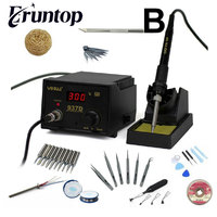 EU US Plug 110 220V HAKKO 936 Soldering Station Digital Solder Iron With A1321 Ceramic Heater