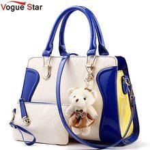 Vogue star frauen taschen tragen frauen pu-leder handtaschen damen umhängetaschen frauen messenger bags kupplung la85