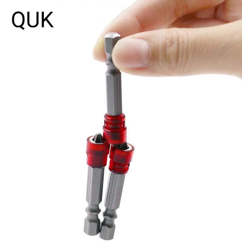 QUK 2 шт., Магнитная отвертка, сверла для металла, дерева, Деревообрабатывающие инструменты, мини Ручные инструменты Phillips, отвертка, дрель