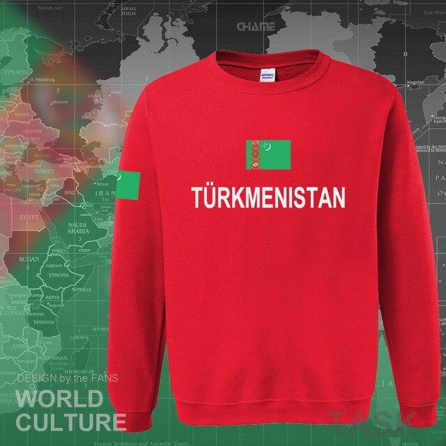 Turkmenistan Turkmen hoodies men sweatshirt sweat new hip hop streetwear clothing top sporting tracksuit nation 2017 TKM casual 4
