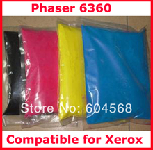 High quality color toner powder compatible for Xerox Phaser6360/C6360/6360 Free Shipping