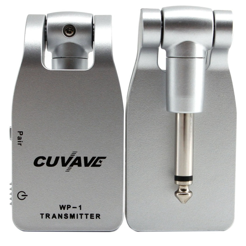 Cuvave Wp-1 2.4G Wireless Guitar System Transmitter & Receiver Built-In Rechargeable Lithium
