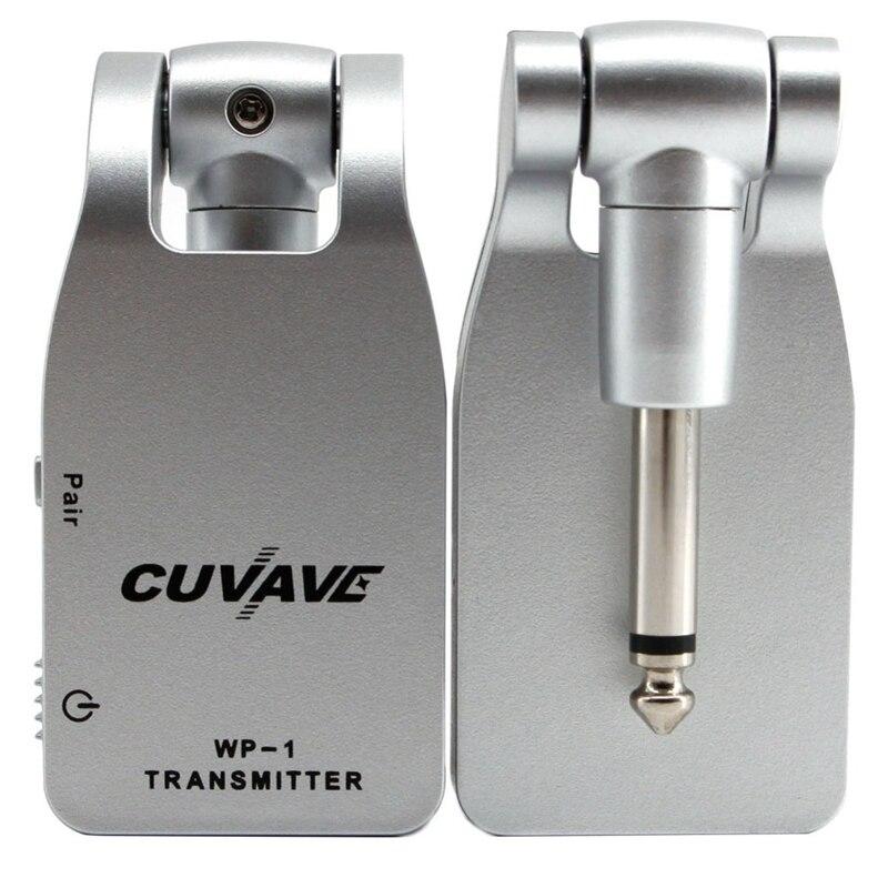 Sistema de Guitarra sem Fio Built-in de Lítio Cuvave Transmissor Receptor Recarregável Wp-1 2.4g &