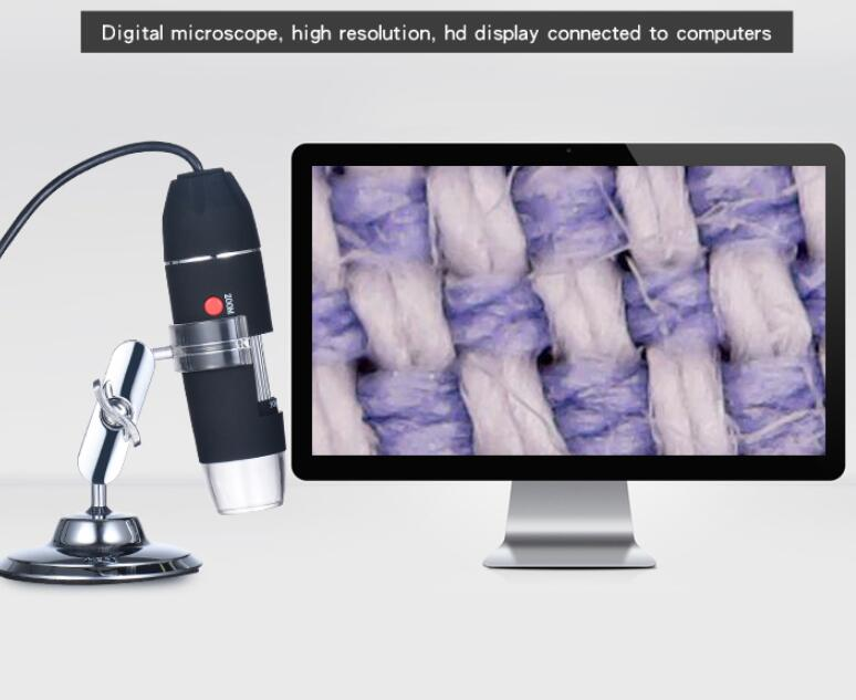 8LEDs 500X 1000X Microscope High Resolution Zoom Digital Electronic Microscope Handheld USB Endoscope Camera Magnifier image