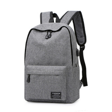 bagpack Simple Canvas Backpack Male/Female School Laptop Backpack for Teenagers Travel Bagpack Stachels Rucksack Mochila все цены