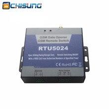 RTU5024 GSMเปิดประตูรีเลย์สวิทช์การเข้าถึงระยะไกลควบคุมไร้สายที่เปิดประตูล็อค