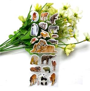 Image 4 - 10 Vellen 3D Dieren Stickers Speelgoed Voor Kinderen Op Scrapbook Telefoon Laptop Geschenken Dieren Tijger Leeuw Dinosaurus Sticker Yyy Gyh
