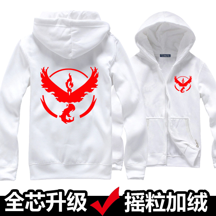 Survêtement 4 Pokemon 9 8 Couleurs Anime Chaud Hoodies Polaire Doux Veste Moltres 3 Zipper 7 Go Manteau 5 6 1 2 10 Shell D'hiver Sweat qH6CAxwt