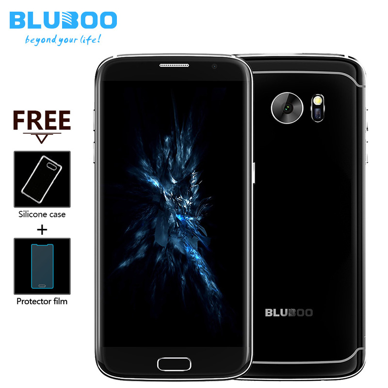 BLUBOO Edge 5.5″ Double Sided Curvy 4G LTE Smartphone MTK6737 Quad Core 2G + 16G 13MP Android 6.0 OTG Fingerprint Mobile Phone