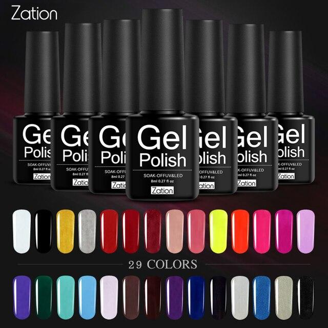 לאספקה טהור צבעים ציפורניים ג 'ל פולני חצי קבוע אמייל UV LED ג' ל לק לכה פריימר לספוג מסמרי אמנות עיצוב