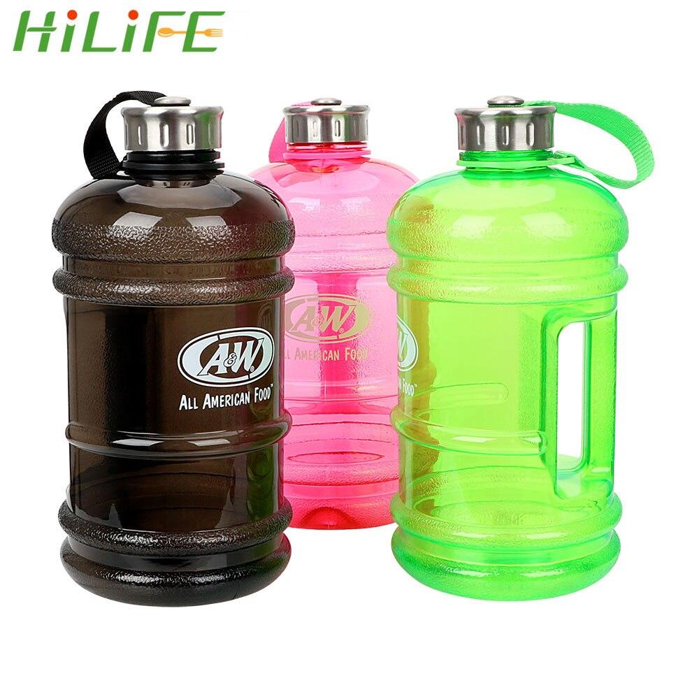 2.2L Grande BPA livre à prova de vazamento Bebida Garrafa De Água Chaleira Sport Treinamento Ciclismo