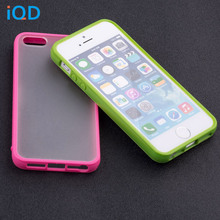 IQD Slim color TPU Phone Case For Apple iPhone 4 4S SE 5S 5 Case Cover Anti-Scratch Bumper Clear Scrub Back Protective shell se стоимость