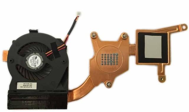 New originais ventilador de refrigeração para Lenovo ThinkPad X200 Cooler radiador dissipador de calor e ventilador 44C9549