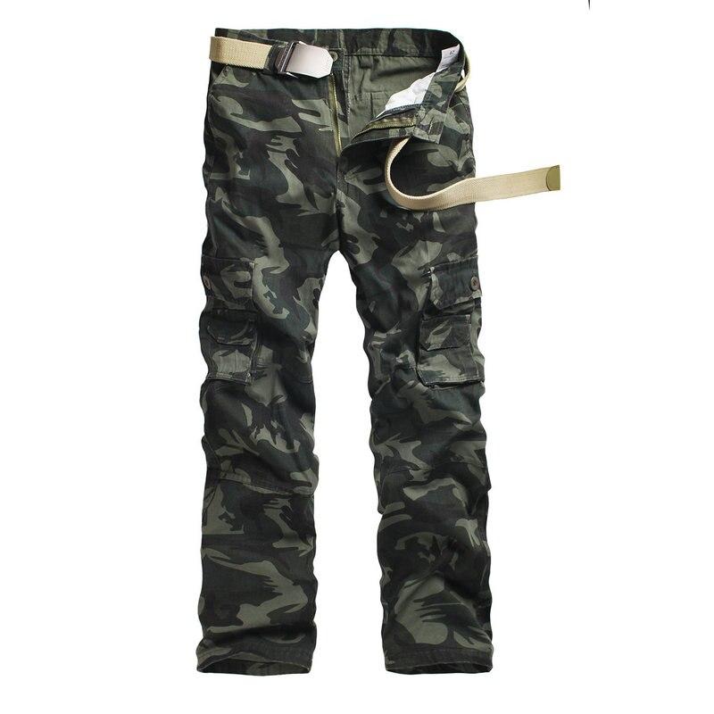5dcd0718e4 M-5X 2019 hombres corredor otoño lápiz los hombres de pantalones Harem camuflaje  militar pantalones