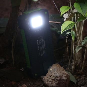 10000mAh Portable Solar Power Bank 2