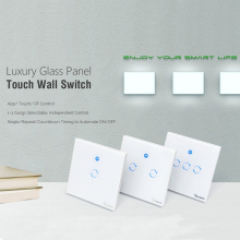 WiFi Touch Wall Switch