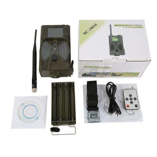 2G GSM MMS SMTP Hunting Trail Camera Cellular Mobile 12MP 1080P Photo Traps Wild Camera HC300M Wireless Wildlife Surveillance 5