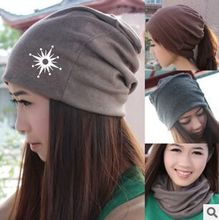 exo kpop peripheral hat winter models primary Yin same paragraph solid piles of white Yin wool cap hat lovers