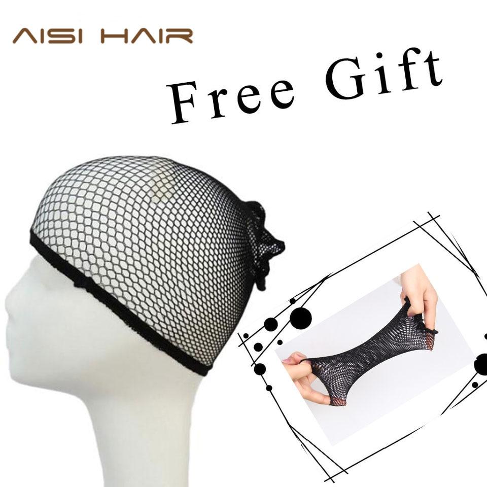 AISI HAIR High Temperature Fiber Blandad Brun och Blond Färg - Syntetiskt hår - Foto 5