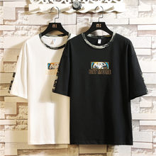 de963aef3705 Men's t-shirts Japanese style cotton tee for mens tshirt summer 2019 with  print harajuku