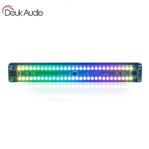 Nobsound alta fidelidade mini AK-DB30C colorido espectro de música áudio indicador nível som vu medidor tela para amplificador