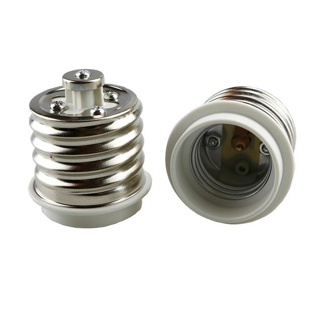 E40 To E27 Lamp Base LED Light Bulbs Adapter Converter Socket Lamp Base Holder For LED Halogen Filament CFL Light 1PCS