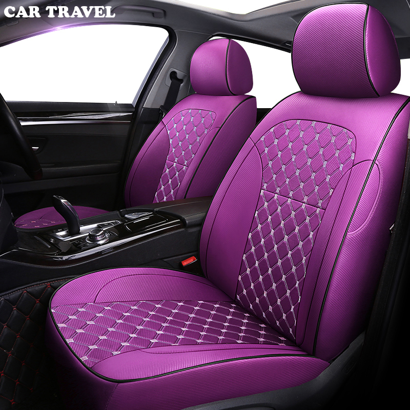 CAR TRAVEL Custom Cloth Car Seat Cover For Acura MDX RDX