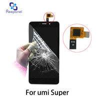 100 Original LCD For Umi Super LCD Display Touch Screen Digitizer Glass Panel Replacement For Umi