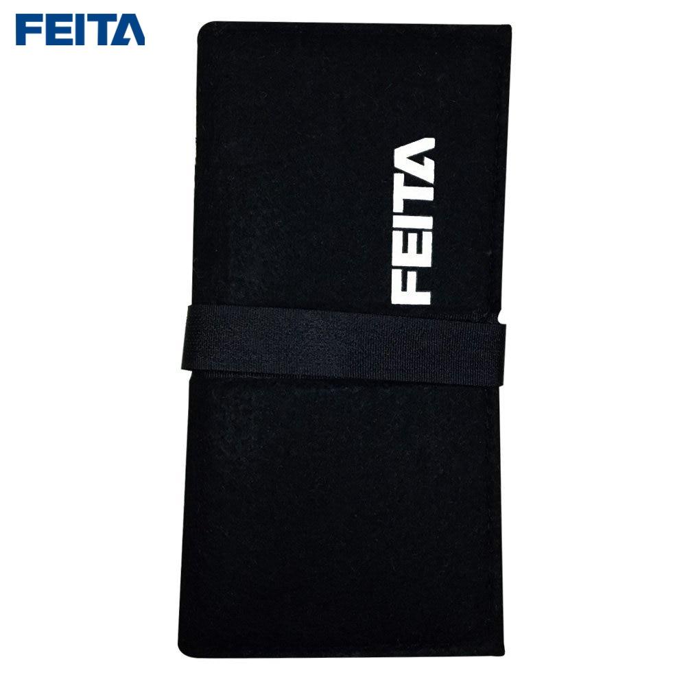 Купить с кэшбэком FEITA 7pcs ST Stainless Steel Tweezers Electronics Set Silver Precision Hand Assembly Tools for DIY Repair,Beauty,Crafting,lab