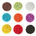 Aprox 200-2000 unids/lote Blanco redondo Color 4.6.8.10mm Dia. CN-BSG01-02 de imitación Perlas de Plástico Al Por Mayor para La Joyería Que Hace