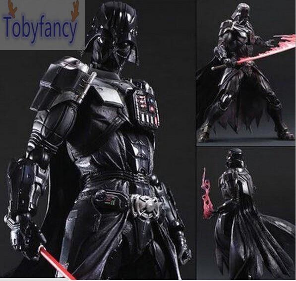 Star Wars Action Figure Playarts Kai Darth Vader Toys Collection Model PVC 275mm Star Wars Vader Play arts Kai T