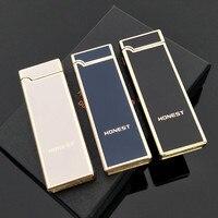 HONEST Fashion Electronic Cigarette Lighter Electric Arc Lighter Usb Gadget For Men Smoke Cigarette & Cigar