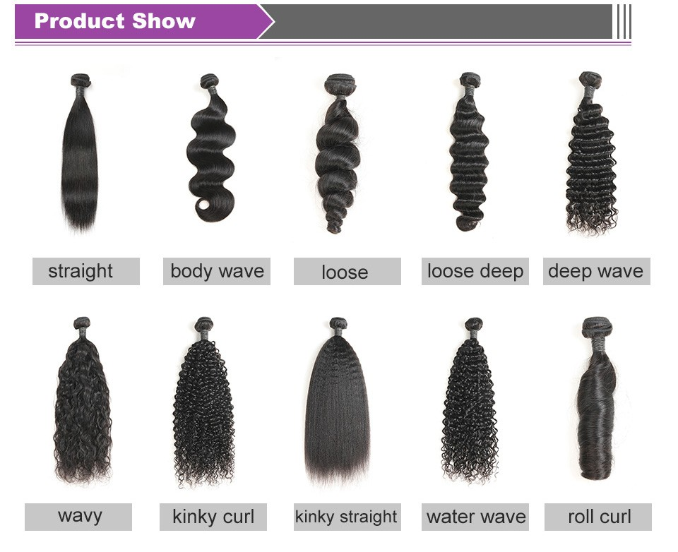 Alimice Hair Indian Water Wave Bundles With Closure Remy Hair Lace Frontal With 3 Bundles Deal Human Hair Bundles With Frontal (3)