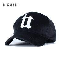 Difanni Women Winter Hat Thicken Keep Warm Brand Fashion Gorra Mens Snapback Solid Color Bone Polo