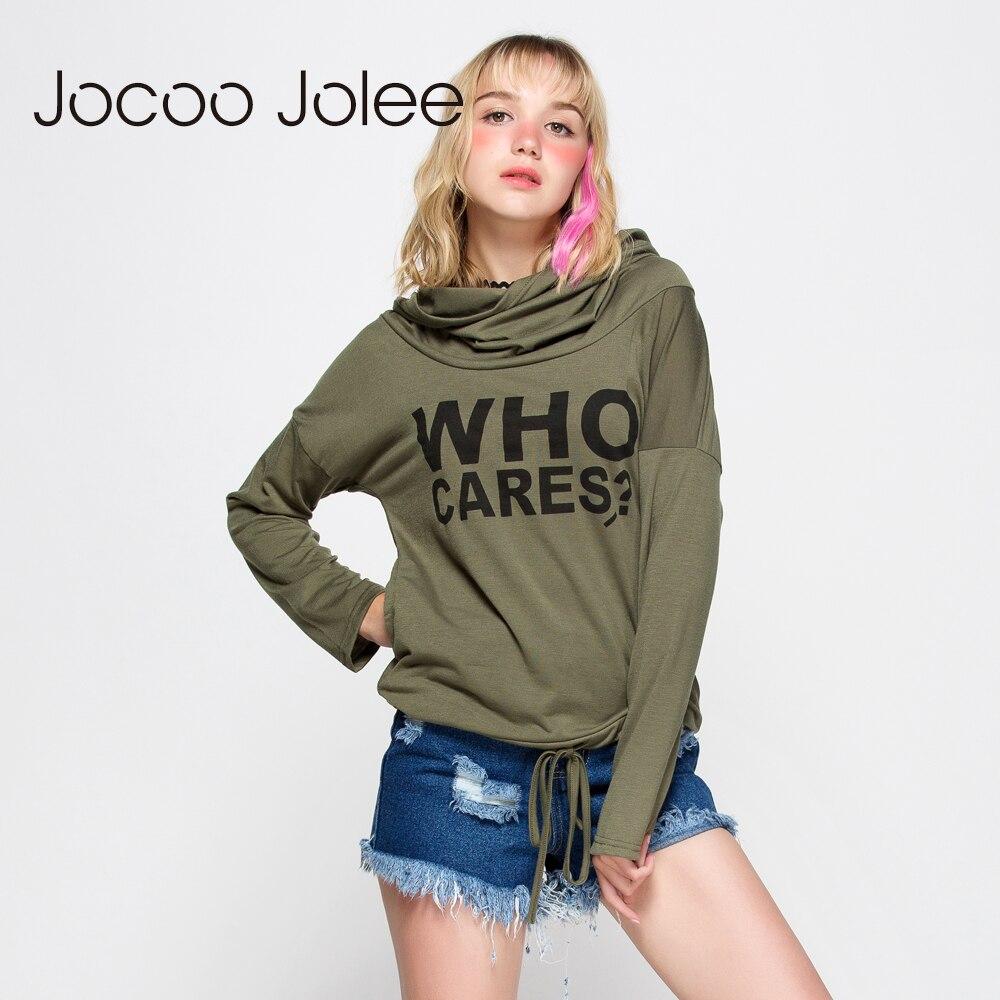 Jocco Jolee Dresy damskie z nadrukiem z długim rękawem Swetry z - Ubrania Damskie - Zdjęcie 5